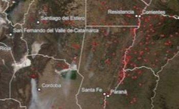 Así crecieron los incendios en Argentina a lo largo de 2020 | Desastre ambiental