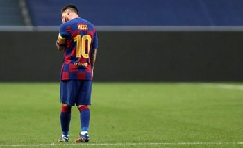 La dura sanción a Messi tras su primera expulsión en Barcelona | Barcelona