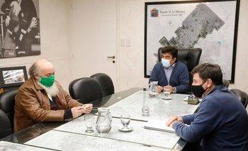 Fernando Espinoza se reunió con Daniel Arroyo | Coronavirus en argentina
