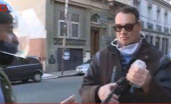 Lautaro Maislin sufrió otro violento ataque frente al Congreso | Televisión