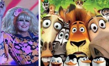 Fede Bal comparó a Carmen Barbieri con un personaje de Madagascar | Cantando 2020