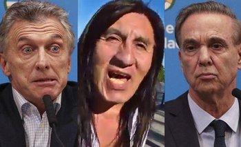 Dany Lescano de 'Flor de Piedra', contra Pichetto y el macrismo | Televisión