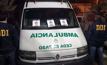 Fingían visitas médicas y vendían droga en ambulancia: los detuvieron | Policiales