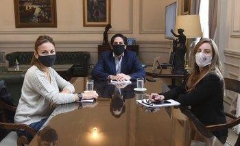 Trotta se reunió con Acuña y Vila por vuelta a clases: qué acordaron | Coronavirus en argentina