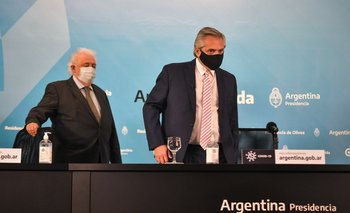 Alberto se reunió con Ginés para la planificación de la entrega de vacunas | Coronavirus en argentina