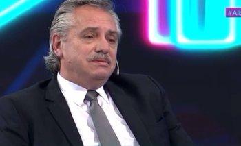 Alberto Fernández se emocionó y estuvo al borde de las lágrimas | Televisión