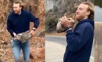 Detienen joven cordobés que lanzó una roca al embudo del San Roque    Tik tok