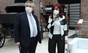 Alberto cruzó a Clarín por querer instalar una interna con Cristina Kirchner | Fake news