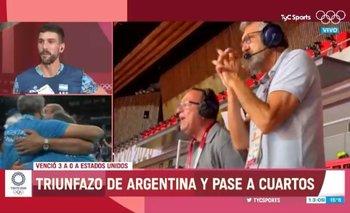 El video de la emoción de Hugo Conte y Montesano por el vóley | Juegos olímpicos