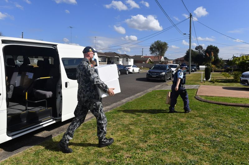 Australia saca el ejército a la calle para controlar los contagios | Coronavirus