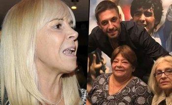 La dura advertencia de Claudia, Dalma y Gianinna a las hermanas de Maradona | Diego maradona