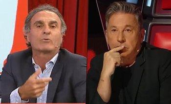 Ruggeri se burló del rol de Ricardo Montaner en La Voz Argentina   Oscar ruggeri