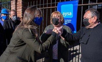 AySA habilitó una red cloacal que beneficia a 8.000 personas en Morón | Provincia