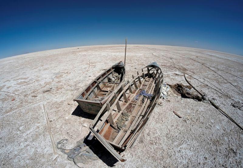 Un lago entero en Bolivia convertido en un desierto por el cambio climático | Fenómenos naturales