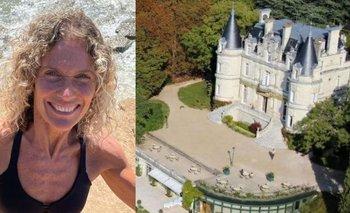 Cómo es el castillo de Francia en el que se quedó varada Maru Botana | Maru botana