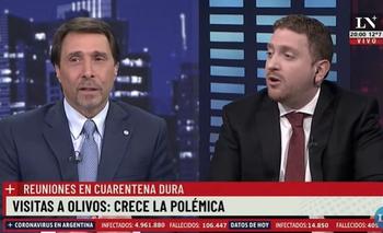 """Viale volvió a atacar a Flor Peña:  """"Hay que decir que es la víctima""""   Farándula"""