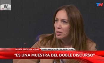Vidal le soltó la mano a Fernando Iglesias y lo dejó en offside    Elecciones 2021