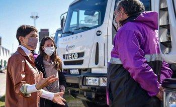 Suman camiones para la recolección de residuos en Quilmes   Provincia