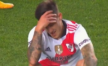 El insólito gol que se perdió Bruno Zuculini en el área chica | Fútbol argentino