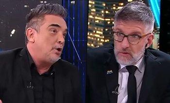 Luis Novaresio defendió a Macri y Nito Artaza lo humilló en vivo | Luis novaresio