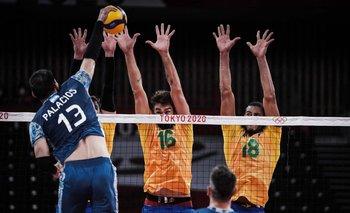 Vóley de Argentina vs. Brasil: cuándo juega por la medalla de bronce   Juegos olímpicos