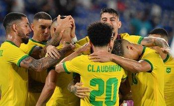 Brasil ganó a España y es medalla de oro en Tokio   Juegos olímpicos