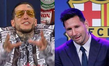 Alex Caniggia deslizó una teoría conspirativa contra Messi | Messi al psg