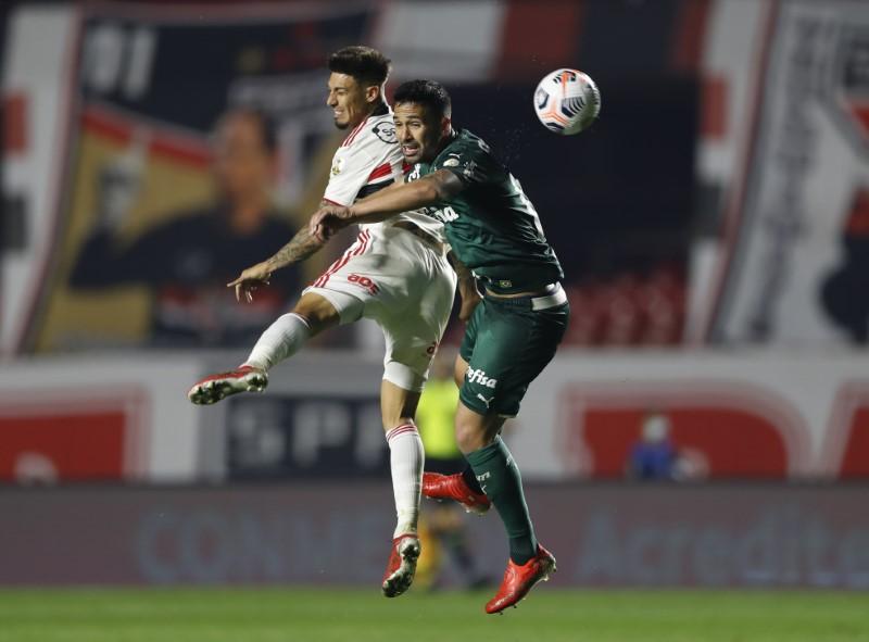 Palmeiras y São Paulo igualan en ida de cuartos de final de la Libertadores | Copa libertadores