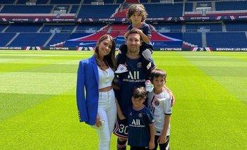 El plan de Messi en París para sus hijos Thiago, Mateo y Ciro | Messi al psg