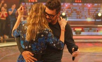 Tinelli y Guillermina Valdés bailaron cumbia en ShowMatch | Televisión