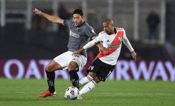 Copa Libertadores: River sufrió a Nacho Fernández y perdió de local vs. Mineiro | River plate