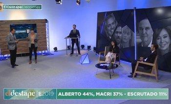 Elecciones 2019: A dos años de la histórica transmisión de El Destape  | El destape