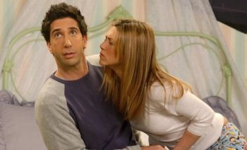 Friends: David Schwimmer desmintió su relación con Jennifer Aniston   Series