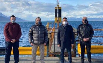 Se iniciaron los trabajos del cruce que unirá Tierra del Fuego con el continente   Transporte