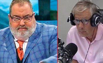 La furia de Lanata con Longobardi: Lo dejó hablando solo en la radio   Jorge lanata