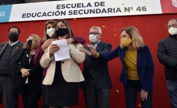 Tigre: Zamora inauguró el nuevo edificio de una escuela en el barrio Las Tunas   Educación