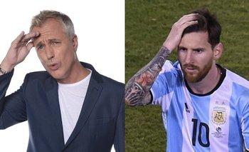 Marley felicitó a Messi con un dato falso y lo mataron en las redes | Marley