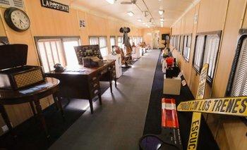 El Tren Museo Itinerantecomenzó su recorrido en Junín | Trenes argentinos