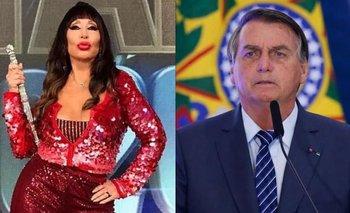 Moria Casán: de ser candidata a diputada a chicanear a Bolsonaro | Moria casán
