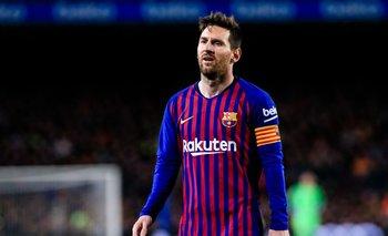 Vergonzoso: hinchas de Barcelona silbaron a Lionel Messi   Messi al psg