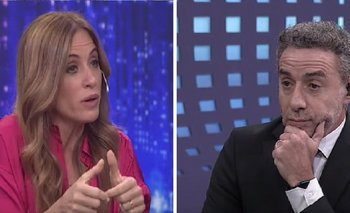 "Victoria Tolosa Paz apuró a Luis Majul:  ""Hablame como periodista"" | La cornisa"