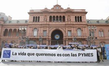 Empresarios salieron a apoyar la propuesta de reducción horaria de Sergio Palazzo   Empresarios