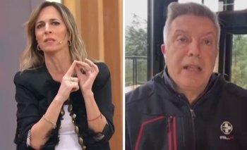 El fuerte cruce entre Sandra Borghi y Mauricio D´Alessandro   Televisión