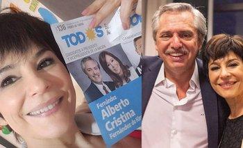 Carolina Papaleo se plantó en Radio Mitre y elogió a Alberto Fernández | Farándula