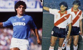 El increíble y desapercibido debut de Maradona en Napoli ante River   Diego maradona