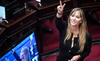 Juró como senadora Juliana Di Tullio en reemplazo de Jorge Taiana   Congreso