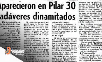 A 45 años de la Masacre de Fátima: el día en que 30 militantes fueron dinamitados | Derechos humanos