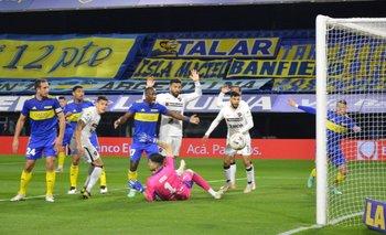 ¿Fue falta? el polémico gol anulado a Patronato contra Boca   Boca juniors vs patronato