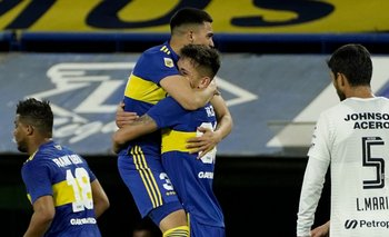 Boca, en el debut de Battaglia, le ganó a Patronato en la Bombonera   Fútbol argentino