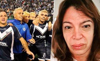 La historia desconocida de Lizy Tagliani con el plantel de Vélez   Farándula